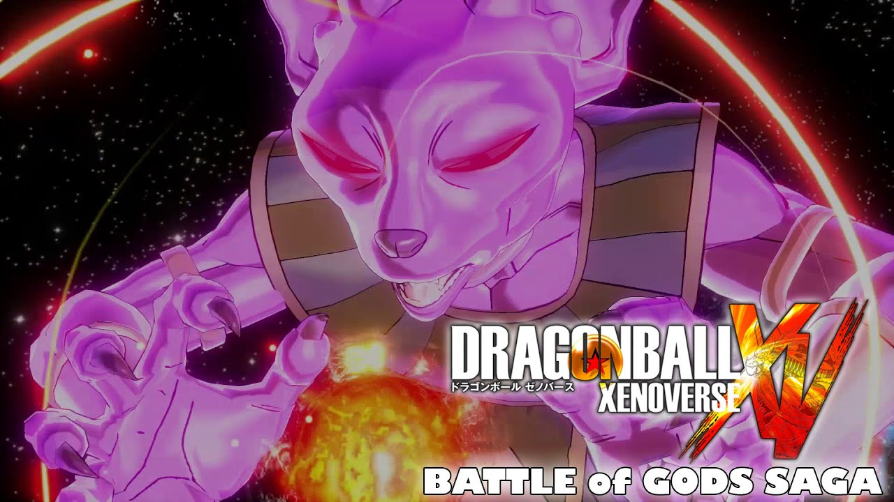 God vs God Dragon Ball Dragon Ball Xenoverse God of