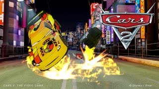 Cars 2 [HD] #18 Gameplay with Hook, Mater, Lightning McQueen, Holley, Luigi, Guido, Piston Cup