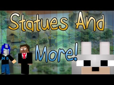 Minecraft Mods - Statues And More 1.2.5 Mod Review and Tutorial