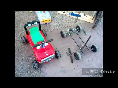 Как сделать электромобиль для детей своими руками 33