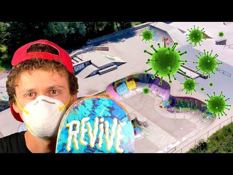 Corona Skatepark Shut Down