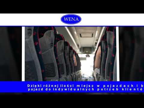 Wynajem Autobusów Usługi Transportowe Przewóz Osób Pszczyna Wena Wynajem Autobusów, Mikrobusów