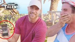 Travis Kelce Gives Questionable Dating Advice to Strangers | Secret Talent