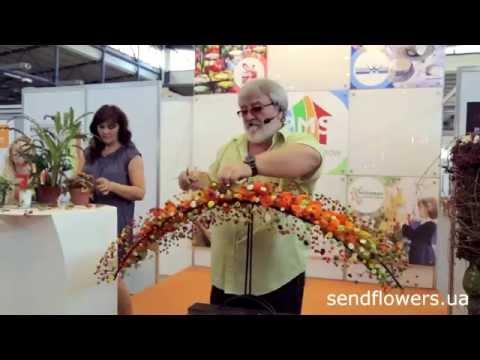 Мастер-класс от Николая Агопа + интервью, Киев, выставка подарков и декора ProMaisonShow 2014