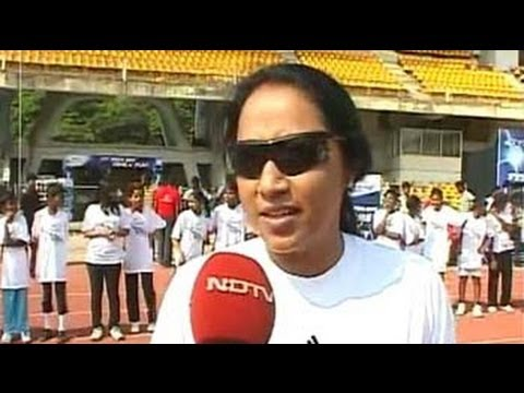 Marks for Sports: Ashwini Nachappa trains budding athletes