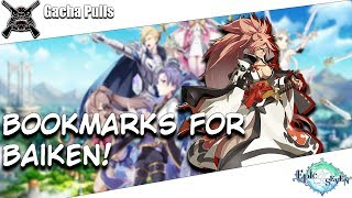 Epic Seven - Bookmarks for Baiken! Blessed by Harudo