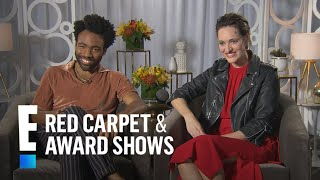 Donald Glover Talks Being Competitive With Alden Ehrenreich | E! Live from the Red Carpet
