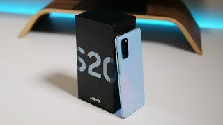 Samsung Galaxy S20 5G - Unboxing, Setup and First Look