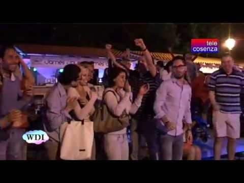 Cosenza: festa grande per l'Italia al Lungofiume Boulevard