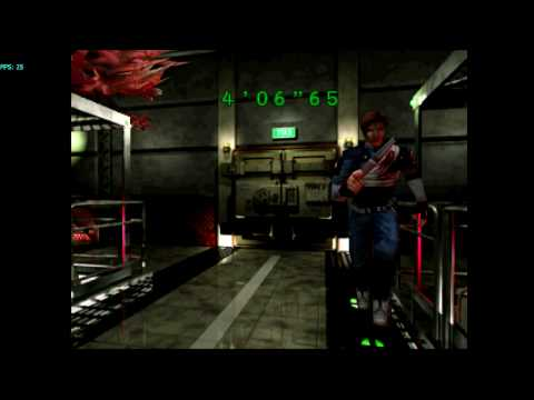 Resident Evil 2 (GC) on Dolphin Wii/GC Emulator 720p HD   Full Speed