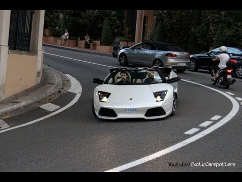 Supercars in Monaco 2012 - VOL. 10 (Murcielago, CCXR Edition, Veyron) - 1080p HD