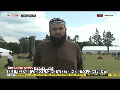 SKY NEWS: Response to ISIS Video by Ahmadiyya Muslim Youth