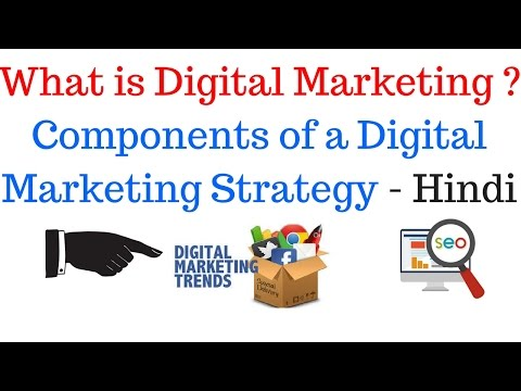 What is Digital Marketing and Components of a Digital Marketing Strategy - Hindi