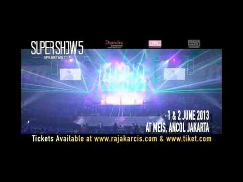 Super Show 5 World Tour In Jakarta video