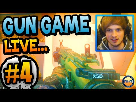 AWESOME START! - Gun Game LIVE w/ Ali-A #4! - (Call of Duty: Ghost)