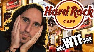 Hard Rock Cafe London Memorabilia Vault Tour + Hottest Chilli Food Menu