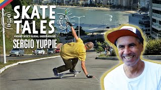 How To Bomb Hills With Brazil's Sergio Yuppie  |  SKATE TALES Ep 2