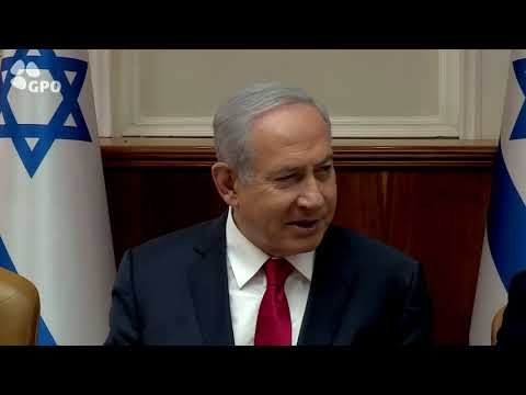 PM Netanyahu's Remarks at Weekly Cabinet Meeting - 26/05/2019