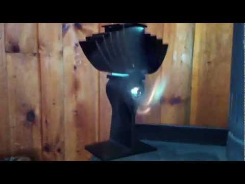 Ecofan in action. Demo/Review of Airmax Model 812 for your Woodstove fireplace