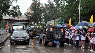 """Khách Trung Quốc được """"vô tư""""lái xe ra vào Quảng Ninh"""
