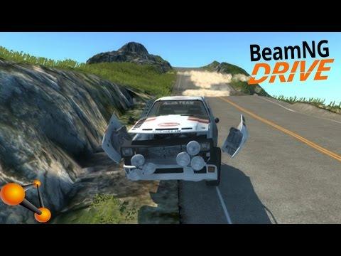 BeamNG.Drive Vehicle Mod - Audi Sport quattro B2 Typ 85Q
