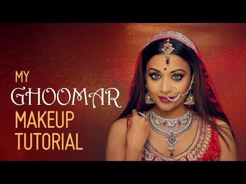 Ghoomar Dance Makeup Tutorial - Padmaavat Padmavati inspired look | Deepa Iyengar