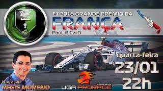 F1 ESPORTS 2019 | LIGA PRORACE LIGHT | F1 2018 XBOX CODEMASTERS | GRANDE PRÊMIO DA FRANÇA