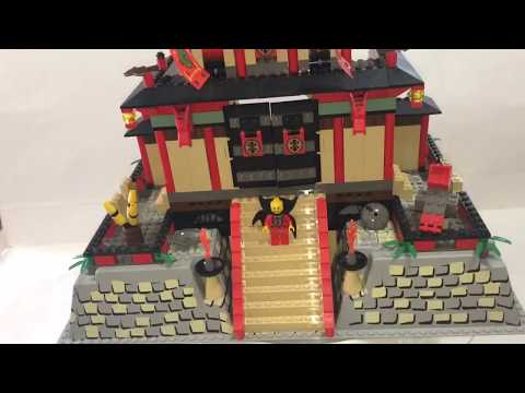 LEGO 7419 Dragon Fortress Re-construction and partial review