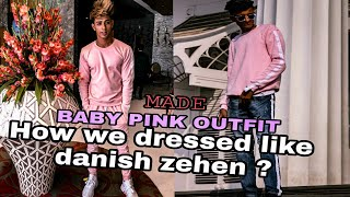 How Did We dressed like Danish Zehen | Customized Babypink Outfit | THE GAPS LIFESTYLE
