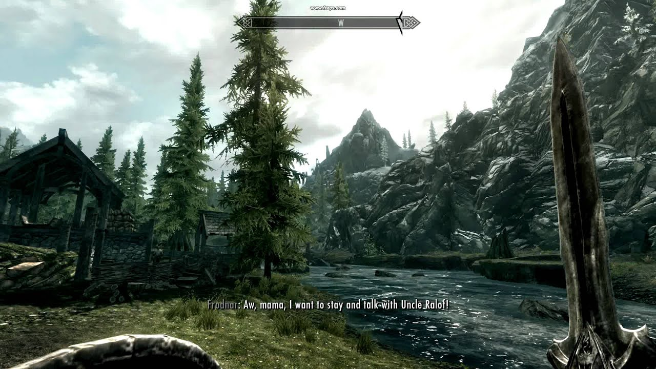 Max Settings Skyrim Skyrim pc Video Test Max