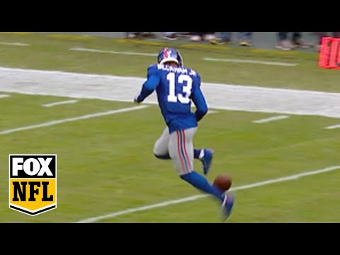 Odell Beckham Jr. shows off rainbow kick soccer skills - New York Giants
