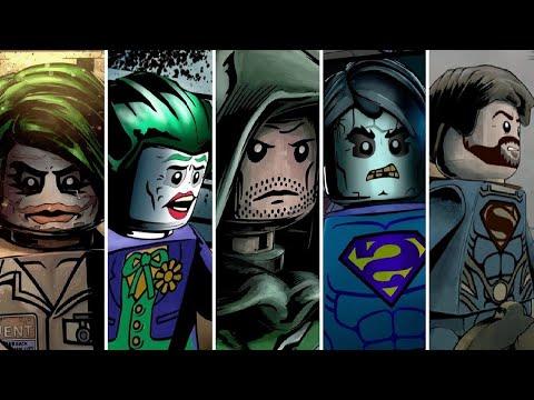 LEGO Batman 3 - All DLC Levels (Arrow, Bizarro, Man of Steel, Dark Knight Trilogy, The Squad)