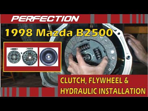 1998 Mazda B2500 Clutch Flywheel And Hydraulic System