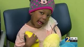 Grambling State, North Carolina A&T players visit kids at local hospital