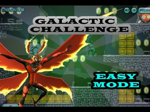 Ben10 Galactic Challenge - Ultimate Bigchill ( Easy Mode )