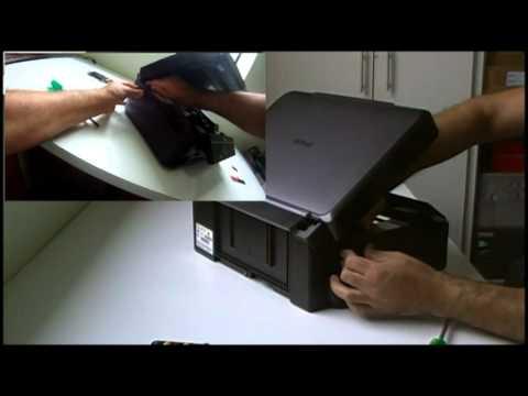 Instalação do Bulk Ink e Dispenser nas Epson TX430W e TX235