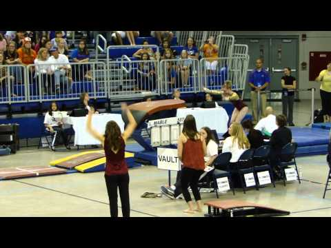 Lindsay Mable Vault University of Minnesota vs Regionals