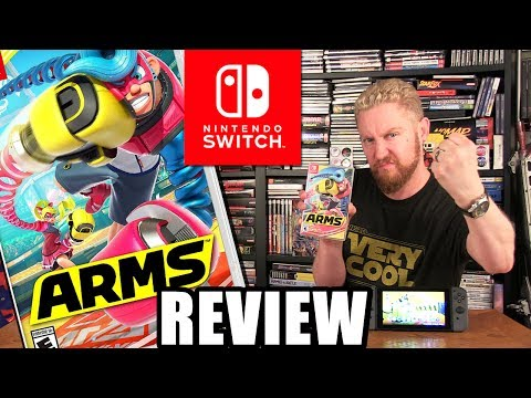 ARMS REVIEW (Nintendo Switch) - Happy Console Gamer