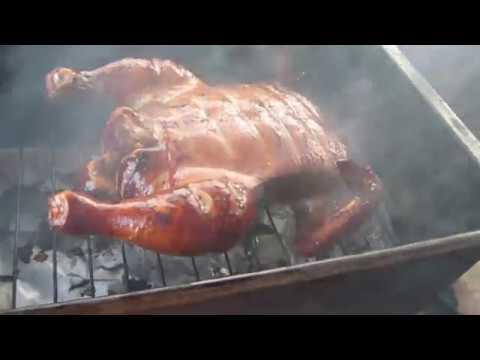 Курица горячего копчения/Несложный рецепт