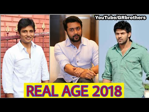 Top 15 Tamil Actors Real Age || Update 2018 || Birthday and Age || GR Brothers