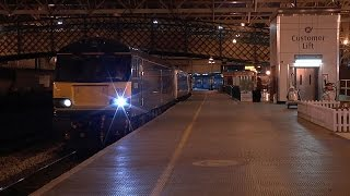 A busy overnighter at Carlisle 20 to 21 May 2015