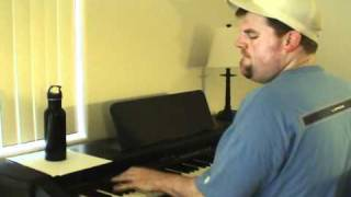 "Candle in the Wind (Elton John) - Acoustic Cover by ""Piano Man"" Steve Lungrin"
