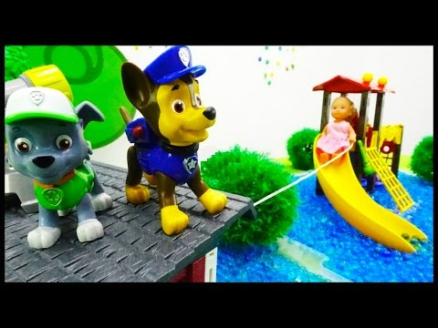Paw Patrol Games - ORBEEZ FLOOD! Toy Trucks Stories for Children.Toys Videos for kids