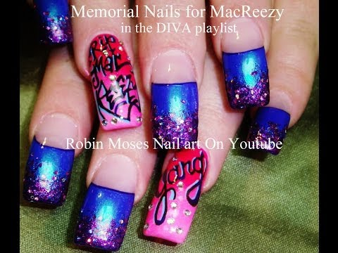 Memorial Nail Art: How-to for new nail techs