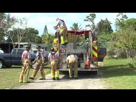 West Palm Beach structure fire