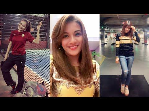 So Pretty! Penjaga gol futsal wanita Malaysia yang cun melecun | Niena Azman