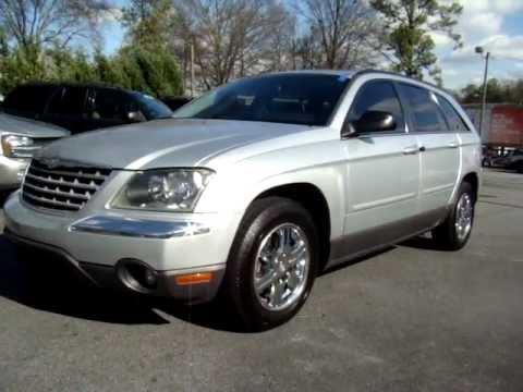 2004 Chrysler Pacifica Silver 2004 Chrysler Pacifica Silver