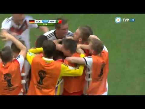 Alemania 4 - 0 Portugal Mundial Brasil 2014 - Directv sports