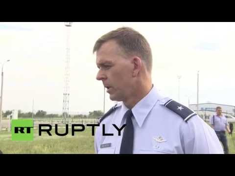 Russia: US inspector confronted by fleeing Ukrainian at Russian border