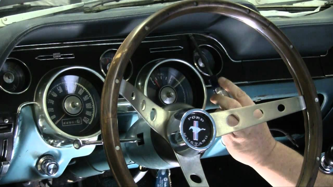Ford Shelby Gt350r Interior >> Episode 52 Season 3 Tribute Automotive 1967 1968 Mustang Tachometer Autorestomod - YouTube